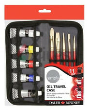 Daler Rowney Simply Oil Paint - Travel Set