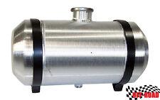 8x18 Center Filler Spun Aluminum Gas Tank -Tractor Pull - Go Kart -1/4 NPT