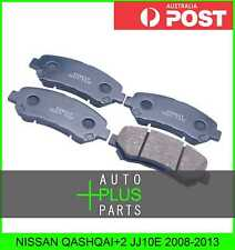 Fits NISSAN QASHQAI+2 JJ10E Pad Kit, Disc Brake, Front