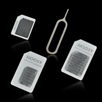 Micro Mini Small Sim Card Adapter Tray Holder Converter Free Shipping