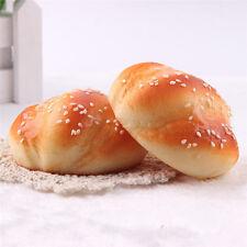 8cm Squishy Brötchen Toast Brot Cartoon Weiche Kinder Spielzeug Handy Strap vgXM