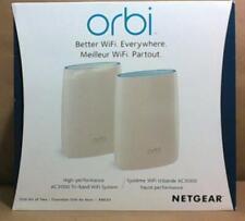 NEW OPEN BOX NETGEAR Orbi Home WiFi System AC3000 Tri Band RBK50-100CNS $500
