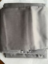Threshold queen Cotton Sheet + 2 Pillow covers Dark Gray new without package