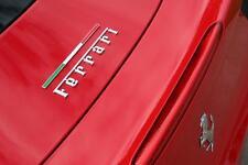 Insignia Bandera Ferrari TRICOLORE italiano 308,328,348,355,430,360,550,512,456,458,TR
