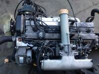 JDM TOYOTA 1G-FE 6 CYL 2.0L DOHC ENGINE & 5 SPEED TRANSMISSION & ECU #2
