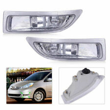 For TOYOTA SIENNA 2004 2005 Front Fog Lamp 1 Pair Driving Light Durable Portable