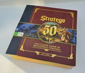 Stratego 50th Anniversary Deluxe Edition Board Game 2011 OOP Rare (NEW)
