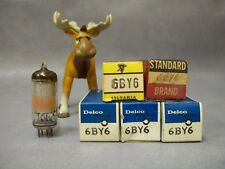 6BY6 Vacuum Tubes  Lot of 5  Delco / Standard / Sylvania