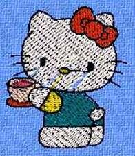 Disegno per tutte le macchine da Ricamo Hello Kitty 043