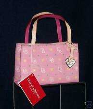 """Dooney & Bourke ~ Pink """"GIRLY"""" TINY EAST/WEST BAG NWT"""