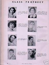 1951 American School Quito Ecuador Yearbook~Class Names