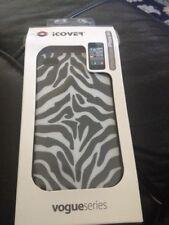 Black Zebra Stripe iCover Case iPhone 4/4S Cover Multi-Color