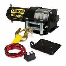 Champion Power Equipment-12003C Champion 2000-lb. Atv/Utv Winch Kit