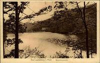 Bad Lauterberg im Harz alte Ansichtskarte ~1930 Waldpartie am Wiesenbeker Teich