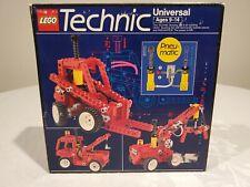 LEGO Technic 8044 Universal Pneumatic Set 100% Complete W/ Instructions & Box