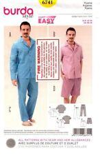 Burda Sewing Pattern 6741 Mens Pyjamas Pajamas Size EUR 48-58 US 38-48  71188061411  2b4171f6f