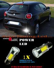 ALFA MITO 6000K LAMPADA RETROMARCIA A LED P21W BA15S CANBUS NO ERROR