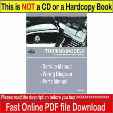 2017 Harley Touring Service Manual Repair with Electrical Diagnostic & Parts