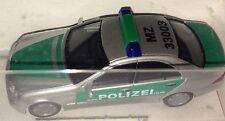 """Herpa 045582 – MB C-Klasse'00 """"policía Maguncia plata/verde"""", h0 1:87, nuevo + embalaje original"""