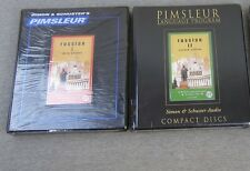 NEW Pimsleur RUSSIAN Language Lessons Course I II Factory SEALED CD 1 2