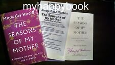 SIGNED The Seasons of My Mother by Marcia Gay Harden, autographed, new