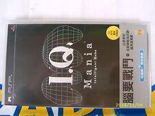 PSP GAME IQ MANIA (ORIGINAL BRAND NEW)