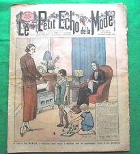 c1924 Great Art Deco Gatsby Jazz Era French Fashion Newspaper N8
