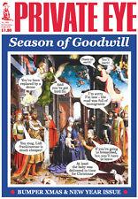 PRIVATE EYE 1382 - 20 Dec 2014 - 8 Jan 2015 - Christmas - Season of Goodwill