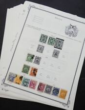 Edw1949Sell : South & Central America Old Time Mint & Used collection on pages