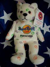 HRC Hard Rock Cafe Foxwoods Peace Bear Beara Bär Teddy 2005 Herrington LE