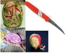 CARVING KNIFE KIWI STAINLESS CRAFT TOOL CUT FRUIT VEGETABLE THAI FOOD 1 PCS.