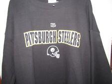 PITTSBURGH STEELERS AUTHENTIC NFL BLACK SWEATSHIRT XL NEW NWT