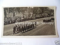 old vintage photo Victory March Sydney August 1945 original parade photograph P2