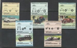 set of 12 mint Auto 100 stamps. Union Island. 1986. 5th series