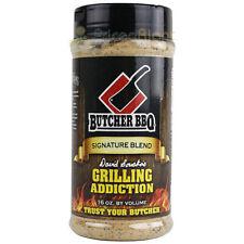 16 Oz Butcher BBQ Grilling Addiction Signature BBQ Dry Rub Seasoning Gluten Free