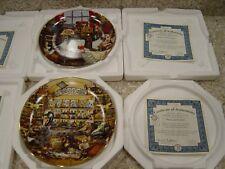 CHARLES WYSOCKI BRADFORD EXCHANGE Purrfect Places 8 Plates Box's & Certificates