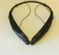 LG TONE Pro HBS-770 Wireless In-Ear Behind-the-Neck Headphones - Black u