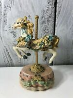 HERITAGE HOUSE CAROUSEL HORSE COUNTY FAIR COLLECTIONS MELODIES