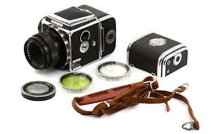 Unique CLA'd Revue 6*6 Medium Format Film Camera w/ Lens & Accs! Film Tested!