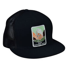 5df91b6a Zion National Park Trucker Hat by LET'S BE IRIE - Black Snapback