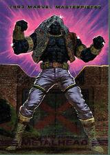 MARVEL MASTERPIECES 1993 X-MEN 2099 DYNA ETCH CARD S4