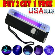 Handheld UV Black Light Torch Portable Blacklight With LED Ultra Violet Lamp