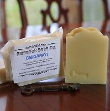 Aspinock Soap Co. Bergamot 4 oz. bar Pure Essential Oil  All Natural Vegan