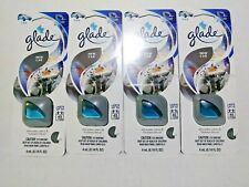 Glade NEW CAR Scent Vent Oil Clip Car AC Air Freshener Eliminate Odors 4 PK