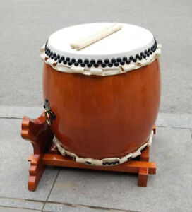 Japanese Ghost Drum, Buddhist Drum and Temple Drum Percussion Instruments