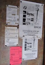 "Silicon Graphics Computer System Sgi Lip Sync ""Paste-up"" Souvenir Posters"