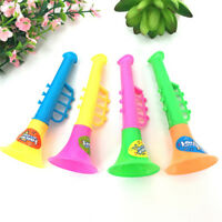 5XPlastic Trumpet Hooter Plastic Kids Baby Musical Instruments Education Toy