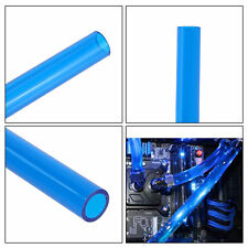 Blue 10x14mm 500mm Water Cooling Rigid Tube Hard Horse Pipe for PC CPU System