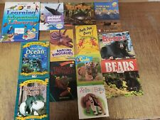 Lot of 25 Science Nature Experiment Geographic Animal Educate Children Books KG2