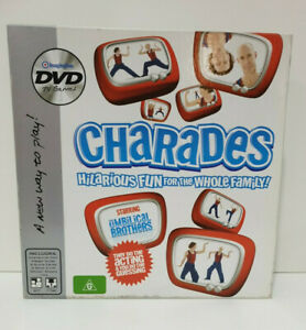 Charades Umbilical Brothers DVD Game - Ages 8 & Up - 2-4 Players